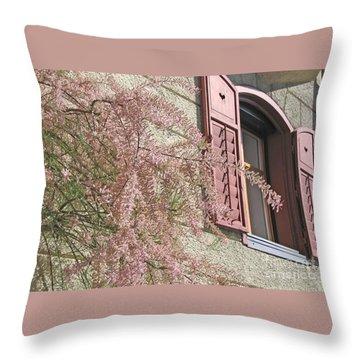 Austrian Spring Throw Pillow by Ann Horn