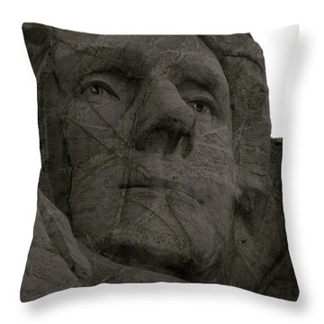 Author Of Our Freedom Throw Pillow