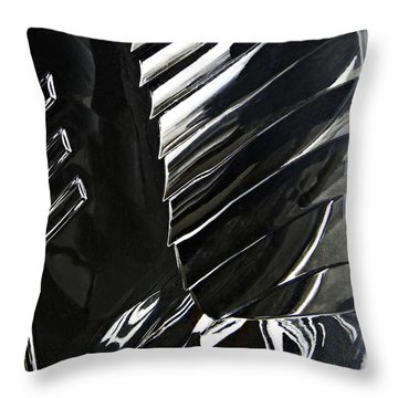 Auto Headlight 69 Throw Pillow by Sarah Loft