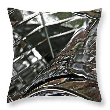 Auto Headlight 8 Throw Pillow by Sarah Loft