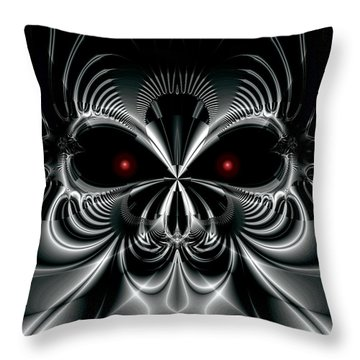 Automaton Throw Pillow by Kevin Trow