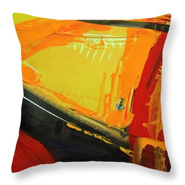 Throw Pillow featuring the photograph Abstract Composition No 2 by Walter Fahmy