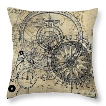 Autowheel II Throw Pillow