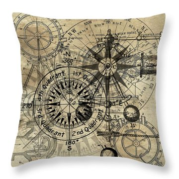 Autowheel IIi Throw Pillow