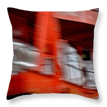 Autozug Throw Pillow
