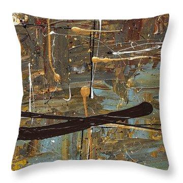 Autumn 3 Throw Pillow