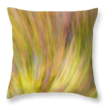 Autumn Azaleas 4 Throw Pillow