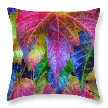 Autumn Bold Throw Pillow