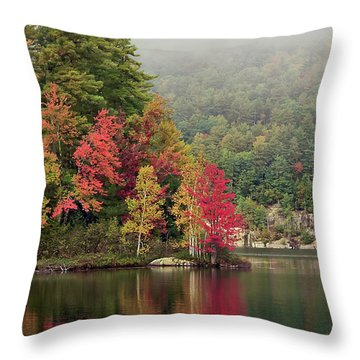 Autumn Breath Throw Pillow