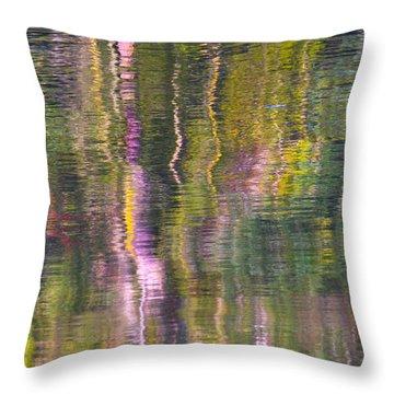 Throw Pillow featuring the photograph Autumn Carpet by Yulia Kazansky