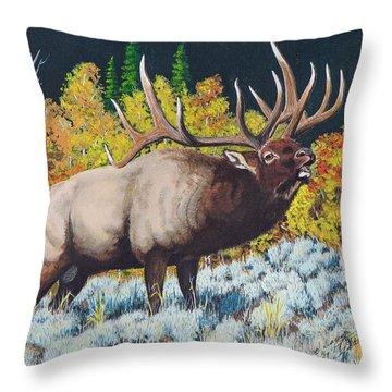 Autumn Challenge Throw Pillow