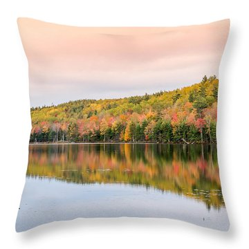 Throw Pillow featuring the photograph Autumn Colors  by Trace Kittrell