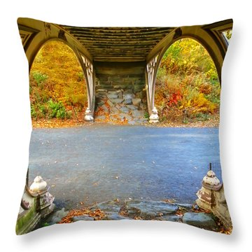 Autumn Crunch  Throw Pillow