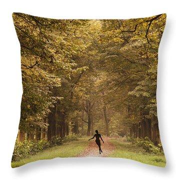 Autumn Dance Throw Pillow