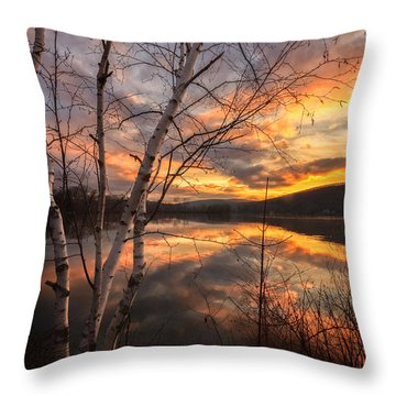 Autumn Dawn Throw Pillow