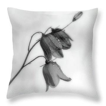 Bluebells Throw Pillows