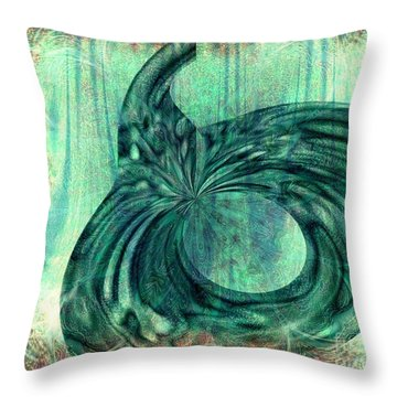 Autumn Dream Throw Pillow by Elizabeth S Zulauf