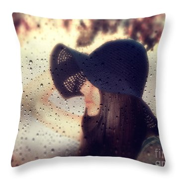 Autumn Dream Throw Pillow by Stelios Kleanthous