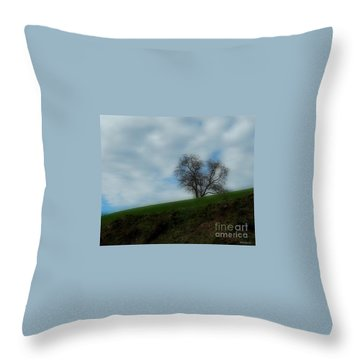 Throw Pillow featuring the photograph Autumn Etude by Marija Djedovic
