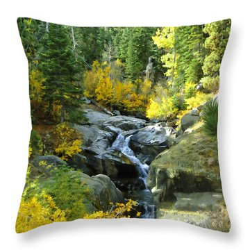 Autumn Fall Throw Pillow