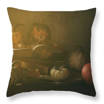 Pumpkins Throw Pillows
