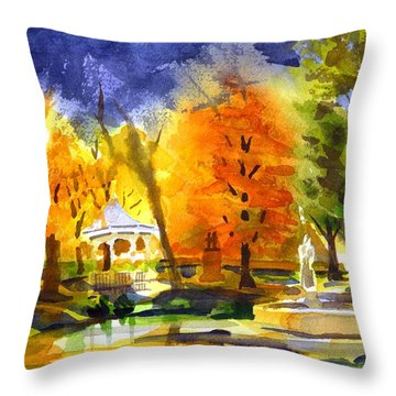 Autumn Gold 2 Throw Pillow