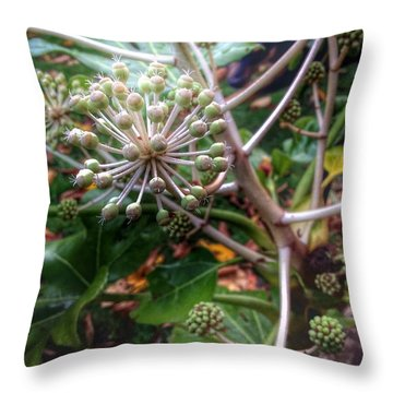 Autumn Growth Throw Pillow