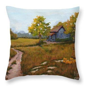 Autumn Harvest Throw Pillow