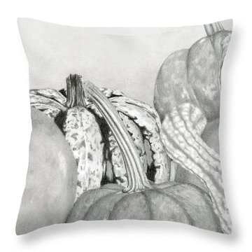 Gourds Throw Pillows