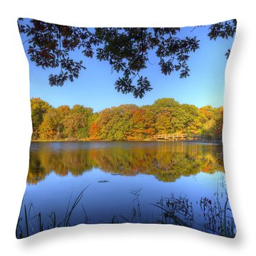 Autumn In Heaven Throw Pillow