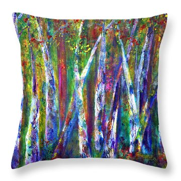 Autumn In Muskoka Throw Pillow