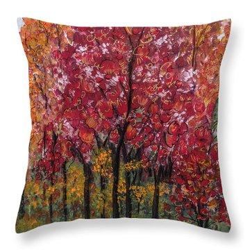 Autumn In Nashville Throw Pillow