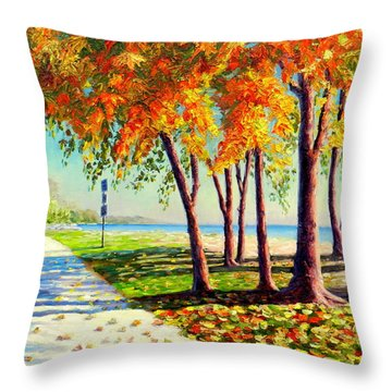 Autumn In Ontario Throw Pillow