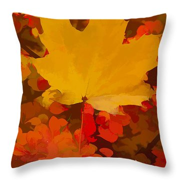 Autumn Is A State Of Mind More Than A Time Of Year Throw Pillow