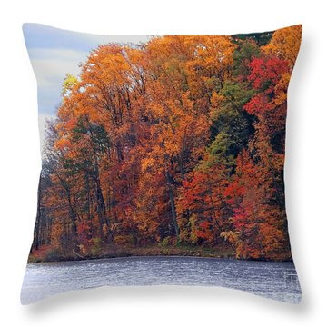 Autumn Is Upon Us Throw Pillow