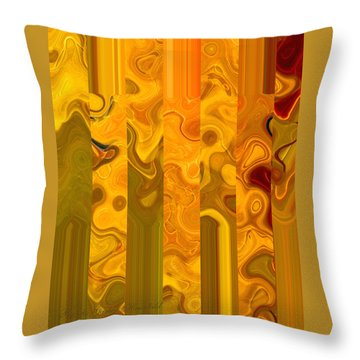 Throw Pillow featuring the photograph Autumn Leaves 4 by Brooks Garten Hauschild