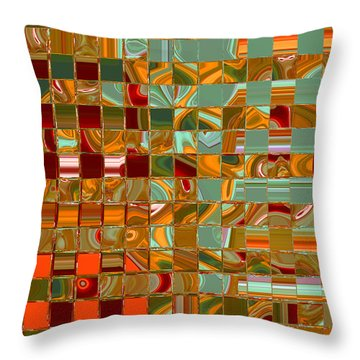 Throw Pillow featuring the photograph Autumn Leaves 8 by Brooks Garten Hauschild