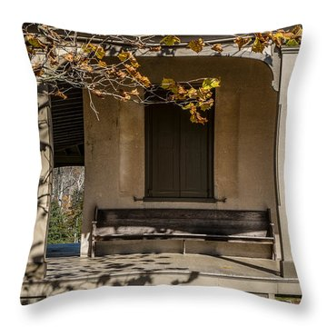 Autumn Leaving Throw Pillow