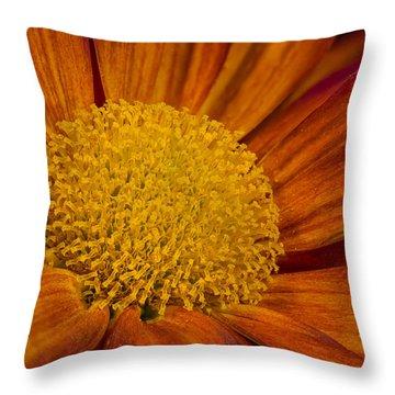 Autumn Mum Throw Pillow