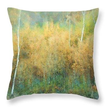 Autumn Pastels Throw Pillow
