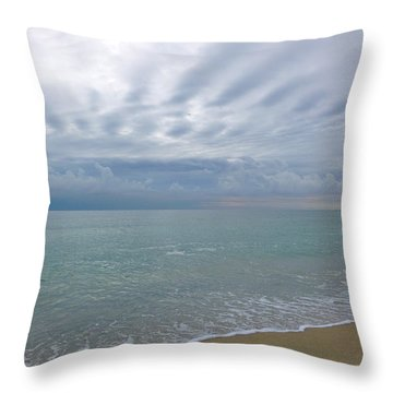 Autumn Clouds Throw Pillow
