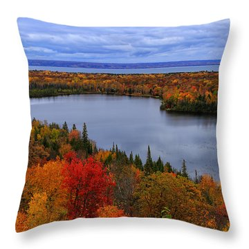 Autumn Spectacle  Throw Pillow