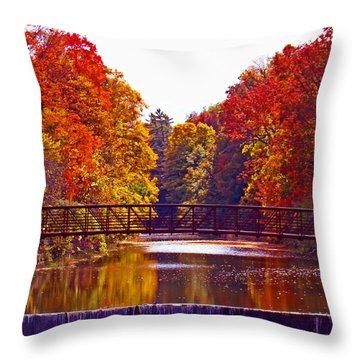 Autumn Splendor Throw Pillow by Al Bourassa