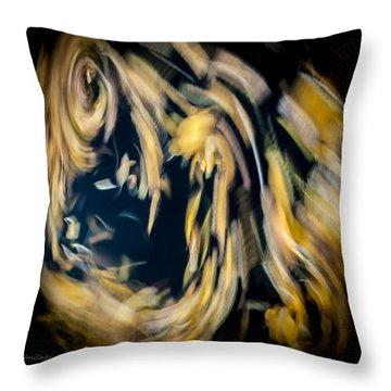 Autumn Storm Throw Pillow by Steven Milner