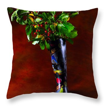 Autumn Symphony Throw Pillow