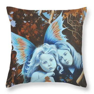 Autumn Turning. Throw Pillow