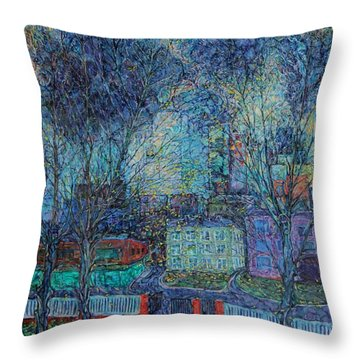 Autumn Twilight Throw Pillow