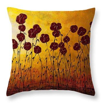Autumn Valley Throw Pillow