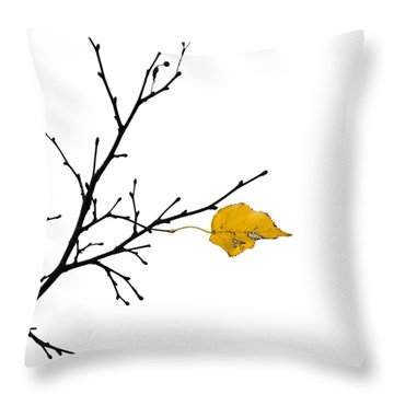 Autumn Winds - Featured 3 Throw Pillow by Alexander Senin