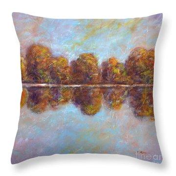 Autumnal Atmosphere Throw Pillow
